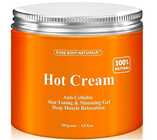 Pure Body Naturals Anti Cellulite Treatment Hot Gel Cream