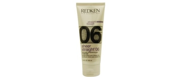 Redken Sheer Straight 06 Lightweight Straightening Gel for Fine Hair