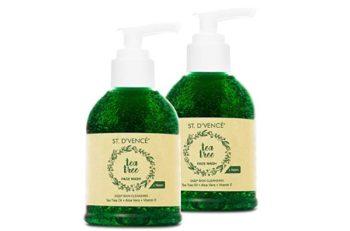 ST. D'VENCÉ Essential Tea Tree Oil and Neem Face Wash,