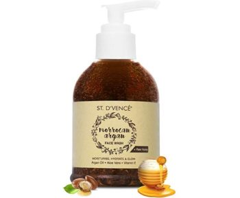 ST. D'VENCÉ Moroccan Argan Oil and Raw Honey Face Wash