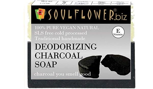 Soulflower Handmade Charcoal Soap