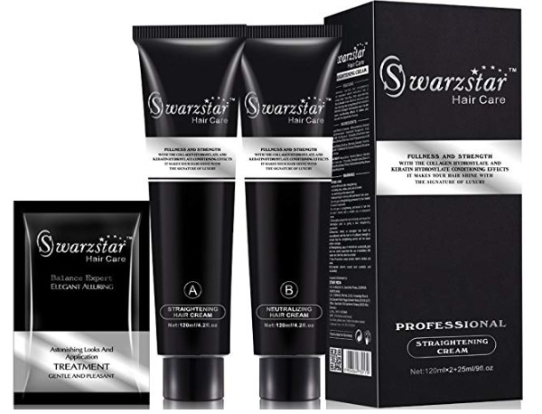 Swarzstar Professional Hair Straightening Cream