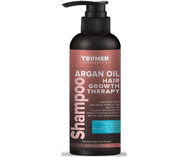 TruMen Shampoo with Organic Argan Oil, Allium Cepa Extract