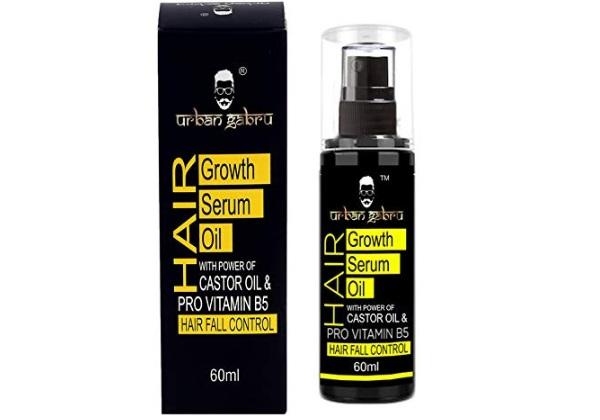 UrbanGabru Hair Growth Serum oil with Castor oil
