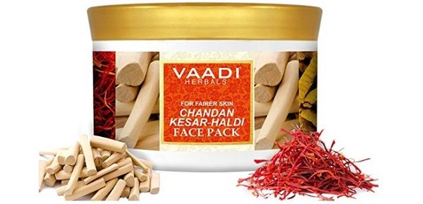 Vaadi Herbals Face Pack, Chandan Kesar and Haldi