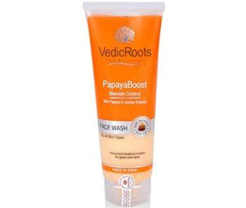 Vedic Roots Papaya Boost Blemish Control Face Wash