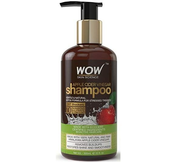 WOW Apple Cider Vinegar Shampoo,