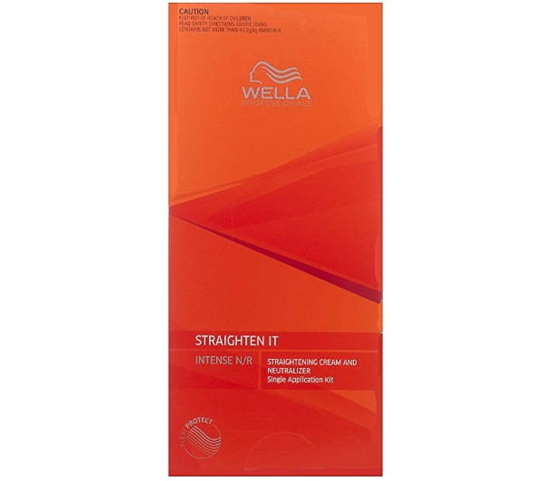 Wella Professionals Straightening Cream and Neutralizer