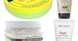 Best Foot Scrubs in India