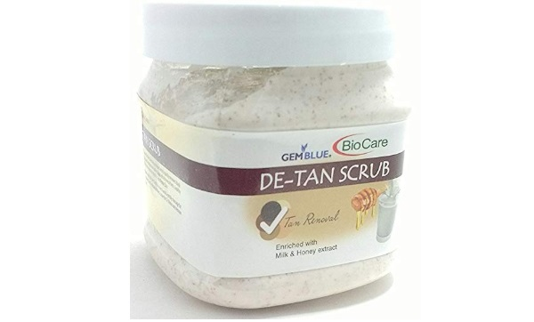 Biocare De-Tan Scrub Enriched With Milk And Honey