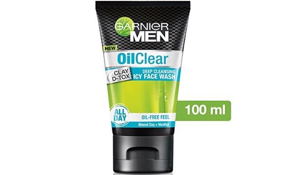 Garnier Men Oil Clear deep cleansing Facewash