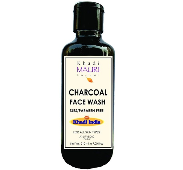Khadi Mauri Herbal Charcoal Face Wash