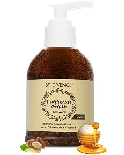 ST. D'VENCÉ Moroccan Argan Oil and Raw Honey Face Wash