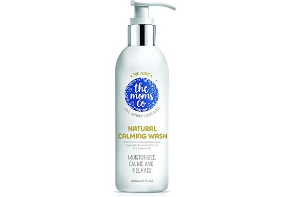 The Moms Co. Natural Calming Wash with Lavender Oil and Patchouli Oil