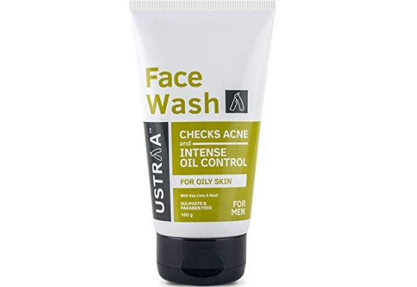 Ustraa Face Wash for Oily Skin, Checks Acne and Oil Control
