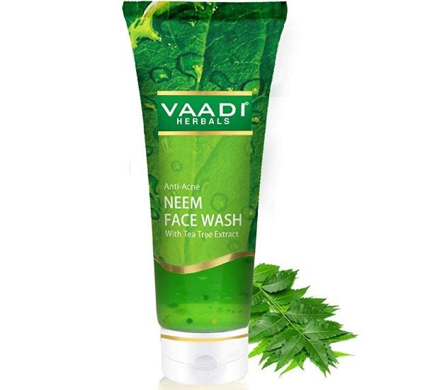 Vaadi Herbals Anti Acne Neem Face Wash with Tea Tree Extract