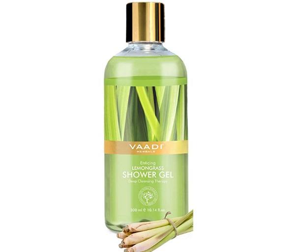 Vaadi Herbals Enticing Lemongrass Shower Gel