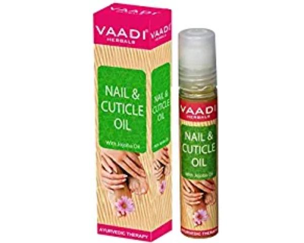Vaadi Herbals Nail and Cuticle Oil with Jojoba Oil