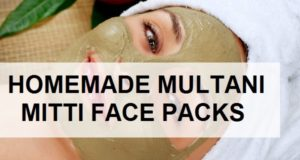 homemade multani mitti face packs