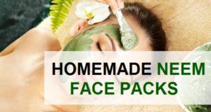 homemade neem face packs