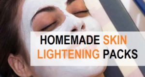 homemade skin lightening face packs