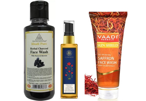 Best Ayurvedic Herbal Facial Cleansers in India