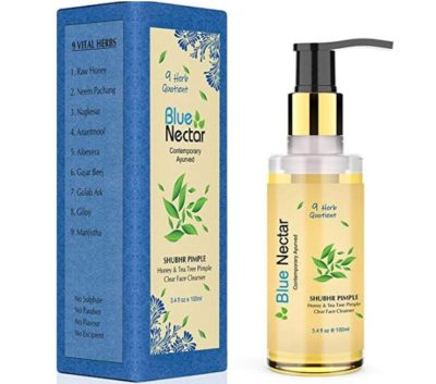 Blue Nectar Ayurvedic Pimple Clear Face Wash