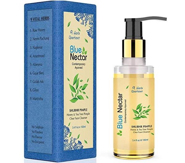 Blue Nectar Ayurvedic Pimple Clear Face Wash