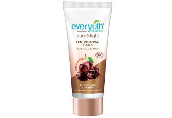 Everyuth Naturals Chocolate and Cherry Tan Removal Face Pack