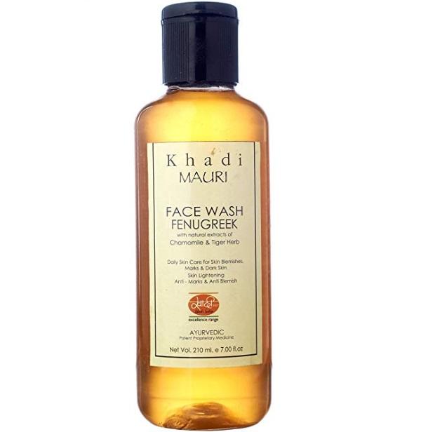 Khadi Natural Fenugreek Face Wash