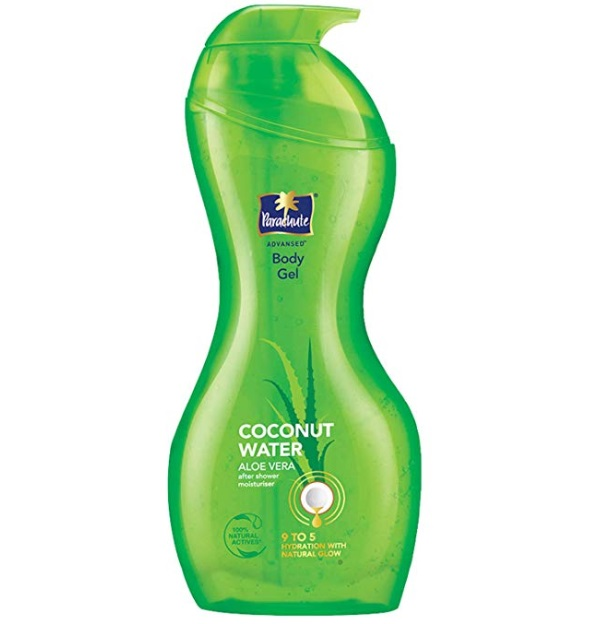 Parachute Advansed Body Gel, Coconut Water & Aloe Vera Gel