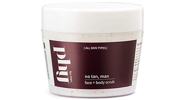 Phy No Tan, Man After-Sun Face and Body Scrub