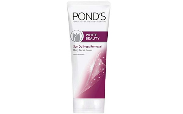 Pond's White Beauty Sun Dullness Removal Daily Facial Scrub