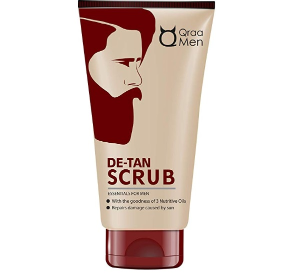 Qraa De-Tan Scrub For Men