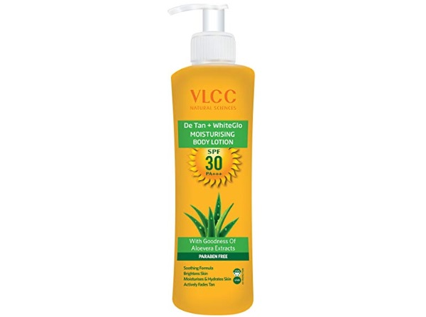 VLCC De Tan Plus White Glow Moisturising Body Lotion SPF 30