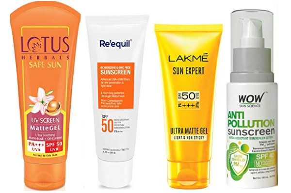 10 Best Sunscreen Lotions in India