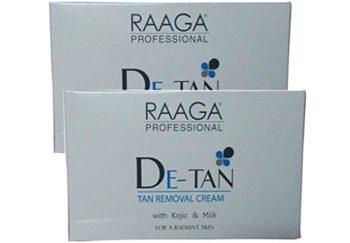 Raaga Professional De-Tan Tan Removal Cream