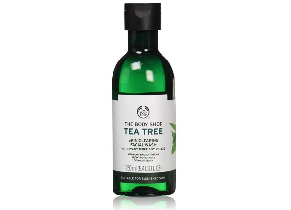 The Body Shop Tea Tree Skin Cleaning Facial Wash