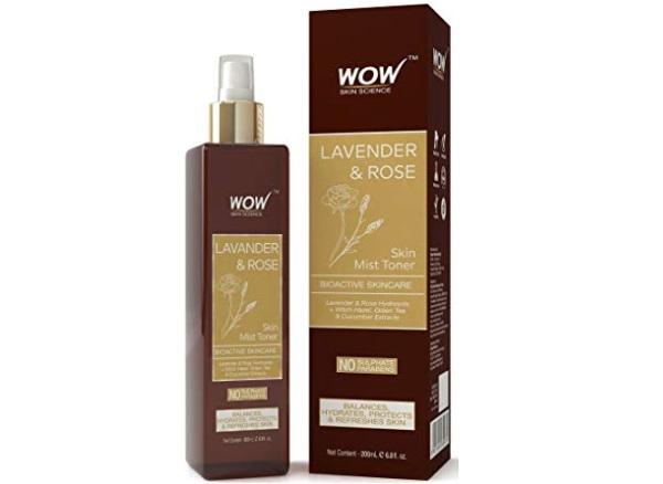 WOW Lavender & Rose No Parabens & Sulphate Skin Mist Toner