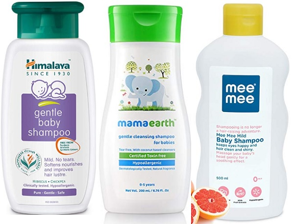Baby Shampoos And Wash In India