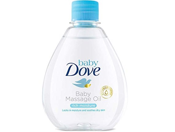 Baby Dove Rich Moisture Baby Massage Oil