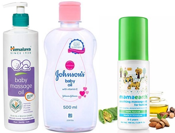 Best Baby Massage Oils in India