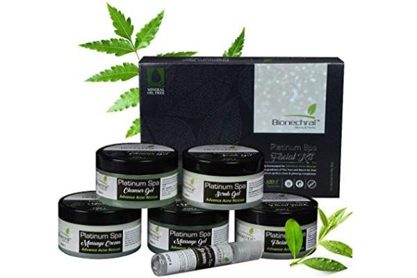 Bionechral Platinum Spa Facial Kit for Oily Acne Prone Skin
