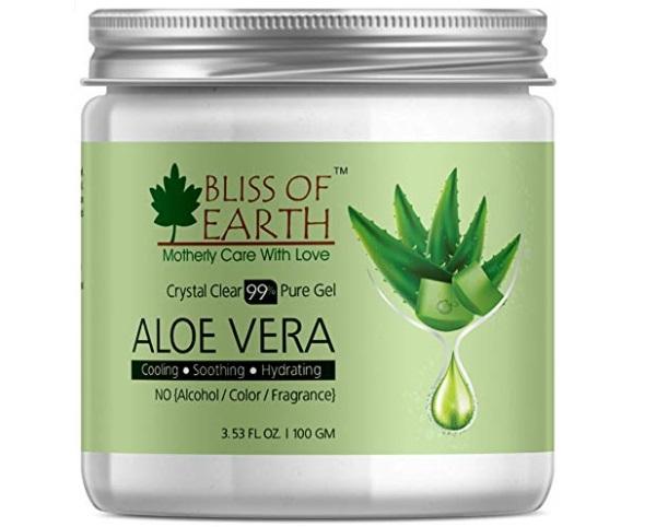 Bliss of Earth Crystal Clear Aloe Vera Gel