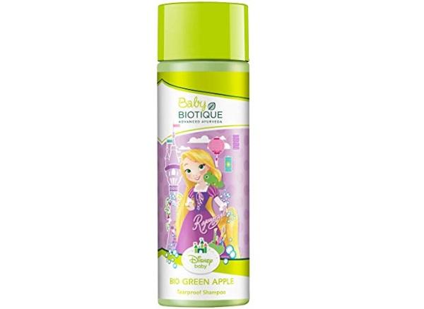 Disney Baby Bio Green Apple Baby Princess Tearproof Shampoo