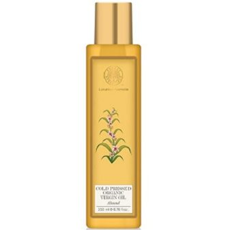 Forest Essentials Organic Cold Pressed Almond Virgin Oil