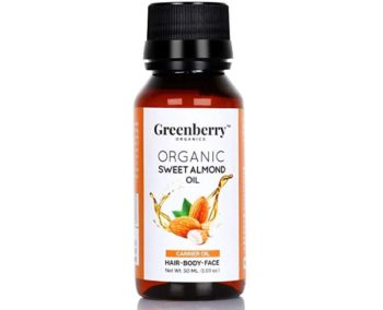Greenberry Organics Organic Sweet Almond Oil