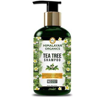 Himalayan Organics Tea Tree Shampoo Anti Dandruff