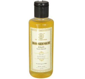 Khadi Natural Ayurvedic Sweet Almond Oil