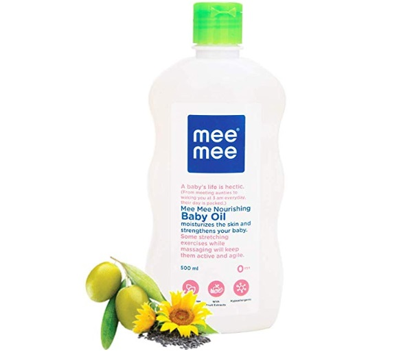Mee Mee Baby Oil with Fruit Extracts, White